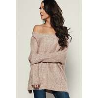 Terrific Sweater Tunic (Blush)