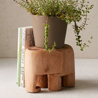 Wooden Elephant Decor - Urban Outfitters