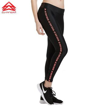 New Running Gym Female Fitness Quick Dry  Breathable Compression Leggings