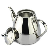 DCCKJG2 new style stainless steel Tea pot and Coffee Drip Kettle pot teapot with strainer stainless steel Kettle hot water for Barista