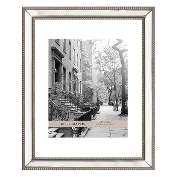 Belle Maison 8'' x 10'' Mirrored Matted Frame