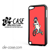 Pug Bicycle For Ipod 5 Case Phone Case Gift Present