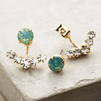 Adrias Anchored Earrings by Anthropologie in Mint Size: One Size Earrings