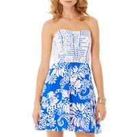 Ferris Strapless Dress - Lilly Pulitzer