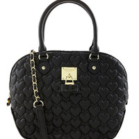Betsey Johnson Always Be Mine Dome Satchel