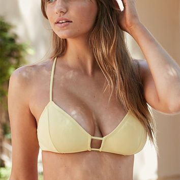 Kirra Strappy Back Cropped Bikini Top at PacSun.com