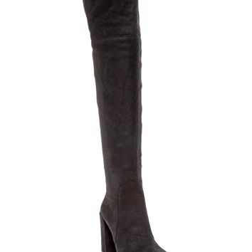 Kenneth Cole New York | Jack Over-the-Knee Suede Leather Boot | Nordstrom Rack