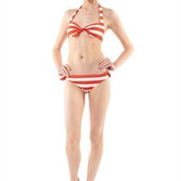 Bella Stripe Halter Bra - MJ67270 - Marc By Marc Jacobs - Womens - Swim - Marc Jacobs