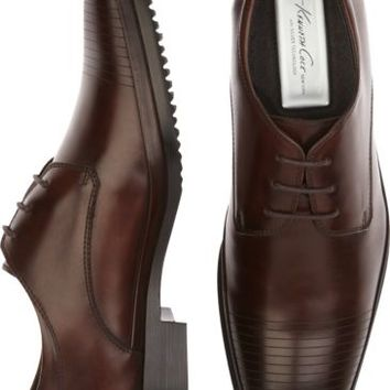 Kenneth Cole Set Your Clock Brown Lace Ups - Dress Shoes | Men's Wearhouse