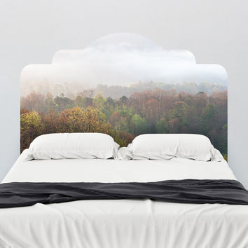 Paul Moore's Misty Mornings Headboard wall decal