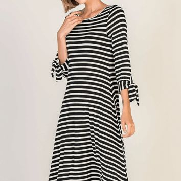 Ready For Brunch Striped Dress