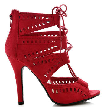 Restricted Cutout Heels