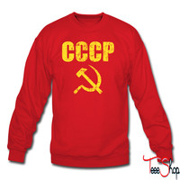 CCCP Hammer and Sickle sweatshirt