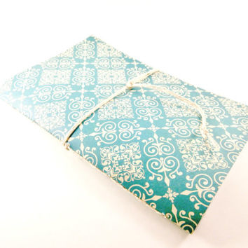 Ruled Notebook | Pretty Journal | Cute Notebook | Handbound Diary | Lined Notebook | Writing Journal | Cute Notebook | Cahier | Blue Jotter