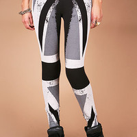 Union Jack Mono Leggings | Trendy Leggings at Pink Ice