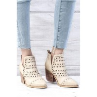 Trixie Booties -  Slip On Ankle Boots