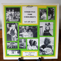 """Vintage 1978 LP Vinyl Record """"For Children (Of All Ages)"""" / Fellowship Records / Dave Anderson with Dave Siebels / Christian Songs for Kids"""