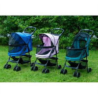 PetGear Happy Trails No-Zip Pet Stroller