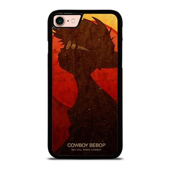 COWBOY BEBOP SILHOUETTE iPhone 8 Case