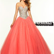 Sweetheart Beaded Tulle Ball Gown Paparazzi Prom Dress By Mori Lee 97107
