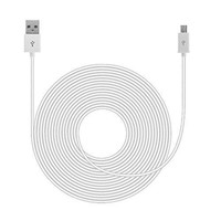 20FT 2A USB Extension Cable for Amazon Echo Dot (White)
