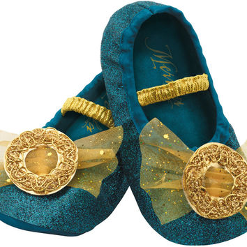 costume shoes: merida slippers