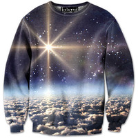 Space Clouds Sweatshirt - READY TO SHIP