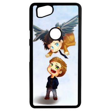 Supernatural Destiel Fanart Google Pixel 2 Case