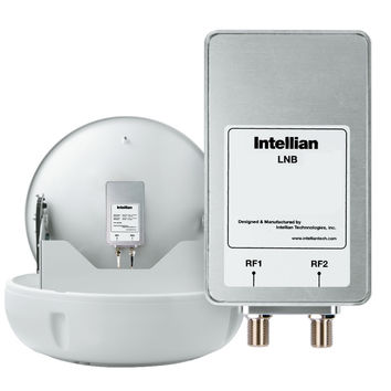 Intellian North American LNB (11.25GHz, 2 Ports) f/Use w/DIRECTV, DISH Network & S20808 S2-0808 886310000000