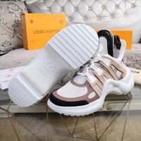 Louis Vuitton Women Casual Shoes Boots  fashionable casual leather