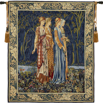 Bridesmaids Muses Tapestry Wall Hanging