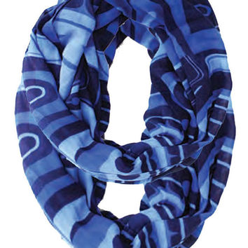 Inspiring the Future Infinity Bamboo Scarf designed by Roger Smith