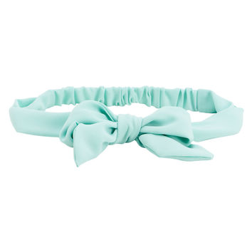 Solid Bow Headband
