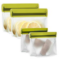BlueAvocado® (re)zip™ 2-Piece Reusable Snack Bags