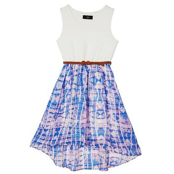 IZ Amy Byer Belted High-Low Dress - Girls 7-16