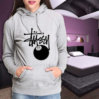 stussy feature the 8 ball Hoodie , Hoodie Size S M L XL 2XL 3XL For Hoodie Women , Men Hoodie