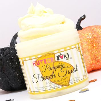 PUMPKIN FRENCH TOAST Whipped Body Soap Fluff 4oz