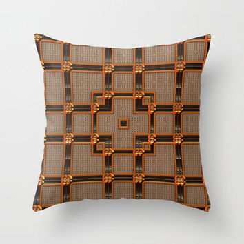 Classy Throw Pillow by Lyle Hatch | Society6