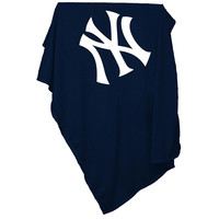New York Yankees MLB Sweatshirt Blanket Throw