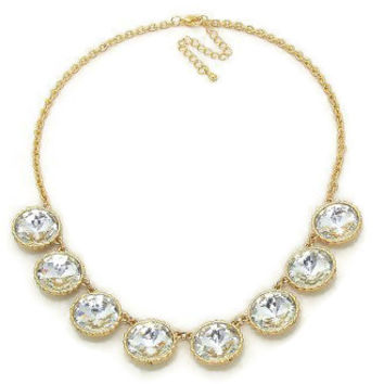 Round Crystal Collar