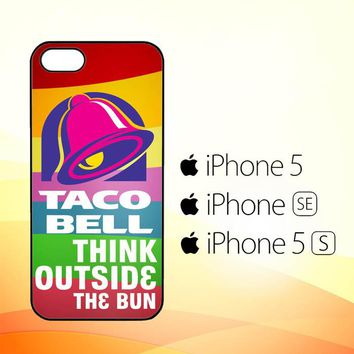 taco bell logo Z3337  iPhone 5|5S|SE Case