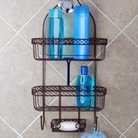 Totally Bath Vertical Fit Shower Caddy, Oil Rubbed Bronze Finish