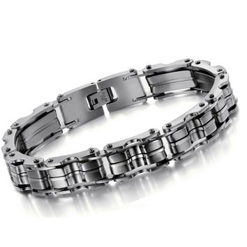 New Arrival Gift Great Deal Hot Sale Stylish Awesome Shiny Men Titanium Classics Bracelet [10783260867]