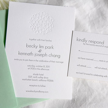 Sample: Wedding Invitation Suite
