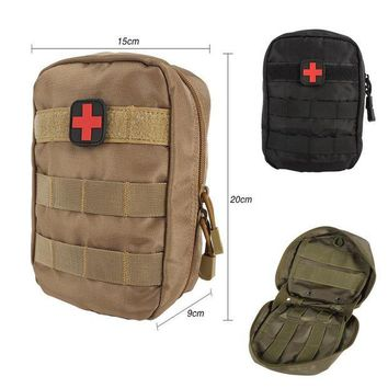 VONE05L Tactical Medical First Aid Kit Bag Molle Medical EMT Cover Outdoor Emergency Military Package Outdoor Travel Hunting Utility New
