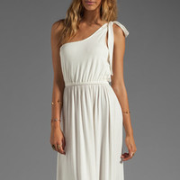 Rachel Pally Felix One Shoulder Dress in White from REVOLVEclothing.com