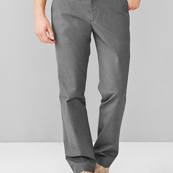 Textured Pant Straight Fit