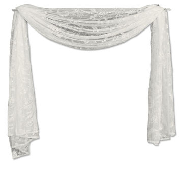 Coventry 45X126 Scarf, Ivory