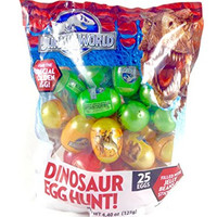 Jurassic World Dinosaur Egg Hunt (25 eggs with jelly beans and stickers)