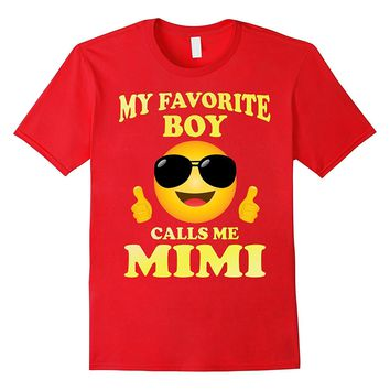 Family Matching Shirt My Favorite Boy Calls Me Mimi